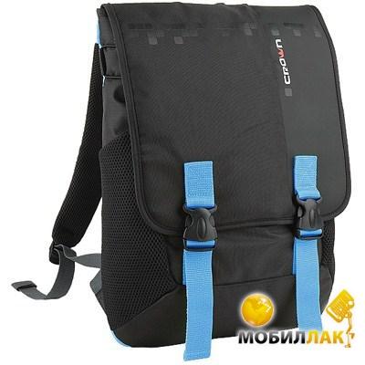 Рюкзак для ноутбука Crown 15.6 Harmony Black/Blue (BPH3315BBU)