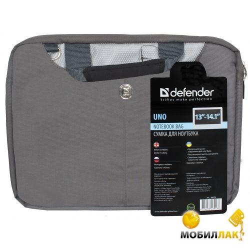 """Defender Uno 13-14.1"""" серый MobilLuck.com.ua 104.000"""