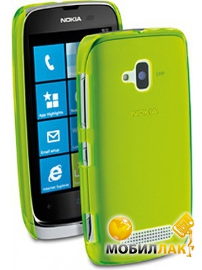 CellularLine Nokia Lumia 610 Cool Fluo Lemon (COOLL610L) MobilLuck.com.ua 55.000