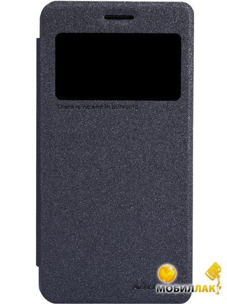 Фотография Чехол Nillkin Lenovo S660 - Spark series Black (0) ...