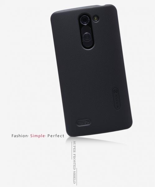 Чехол Nillkin Matte для LG D335 L Bello Dual + пленка Черный