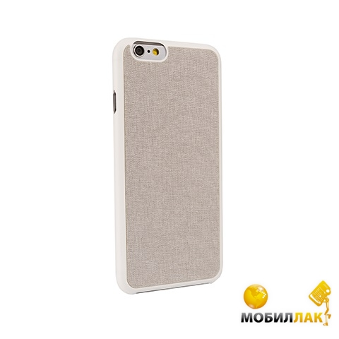 Чехол Ozaki O!coat 0.3 Canvas для iPhone 6 Grey (OC557GE)