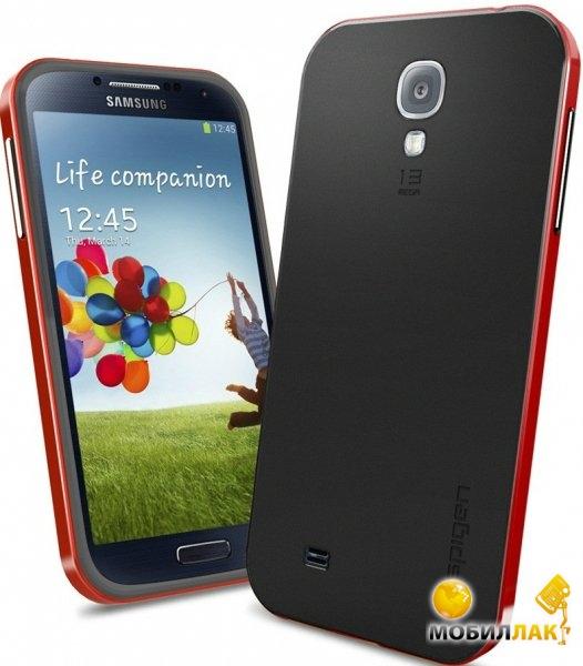 separation shoes 277aa 7c3bf Чехол SGP Spigen Neo Hybrid для Samsung Galaxy Alpha SM-G850F Red ...