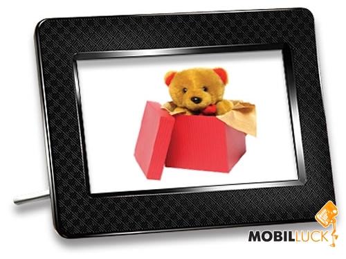 Цифровая фоторамка Transcend 705 Onyx Black.