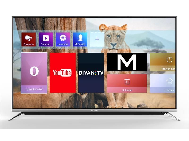 "SKYWORTH 49"" inch Smart TV 1"
