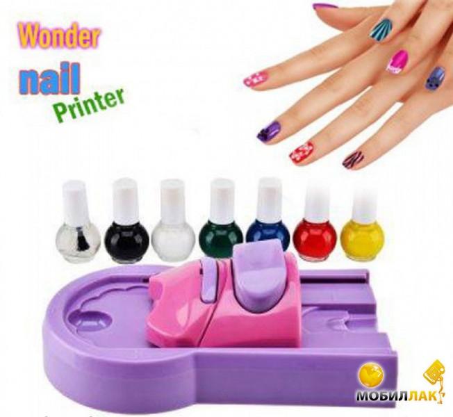 Принтер для нанесения рисунков ногтей