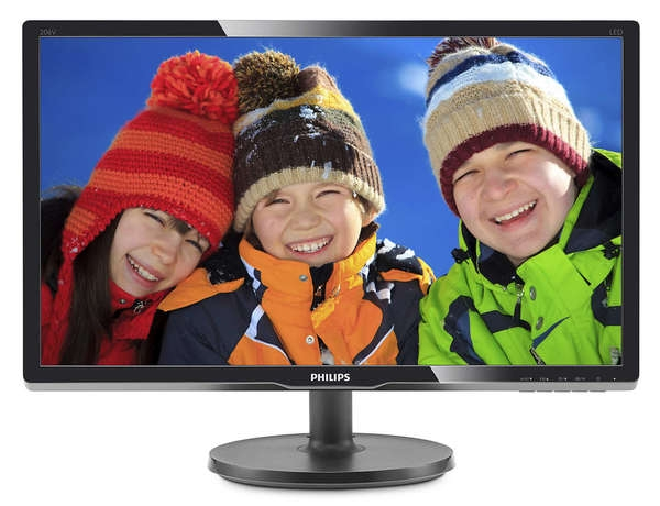 Philips 19.5 206V6QSB6/62 Black Philips