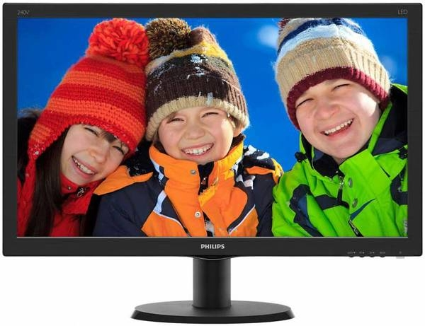 Philips 23.8 240V5QDSB/01 Black Philips