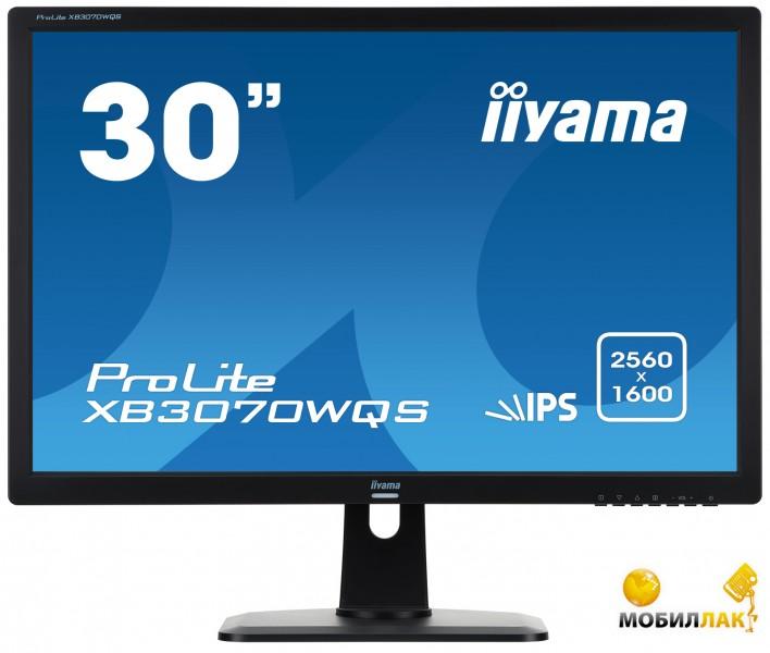 "Монитор Iiyama 30"" LED IPS XB3070WQS-B1"