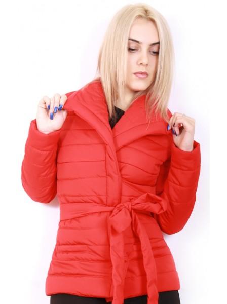 347e1f5997d Куртка женская демисезонная Polin С16 р.42 Красная. Купить Куртка женская  демисезонная Polin С16 р.42 Красная. Цена