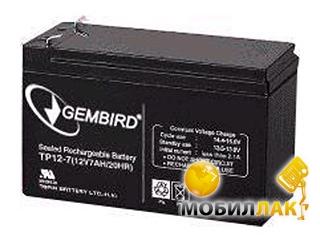 Аккумуляторная батарея Gembird BAT-12V 7AH