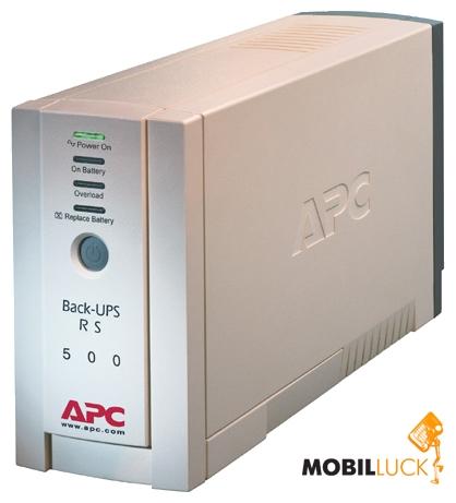 Источник бесперебойного питания APC Back-UPS RS 500.