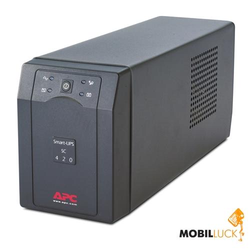 Источник бесперебойного питания APC Smart-UPS SC 420VA (SC420I)
