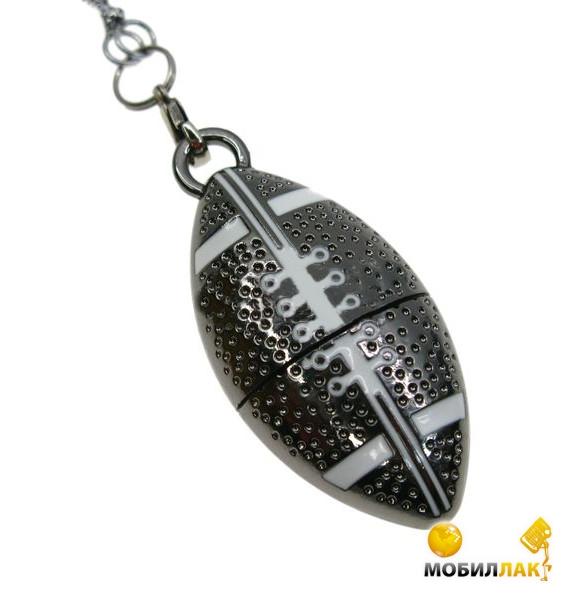 Uniq Мяч Для Регби 32GB USB 2.0 (серебро.металл.разборная) (32C17283U2) Uniq