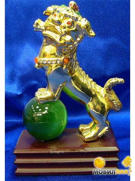Даршан Фу на зеленом шаре золото (2288) Даршан