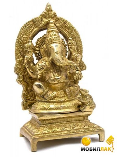 Даршан Статуэтка Ганеша бронза Ganesh Ring Big Даршан