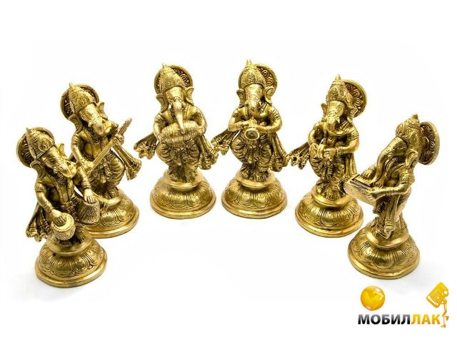 Даршан Статуэтка Ганеша бронза (6 штук) Даршан
