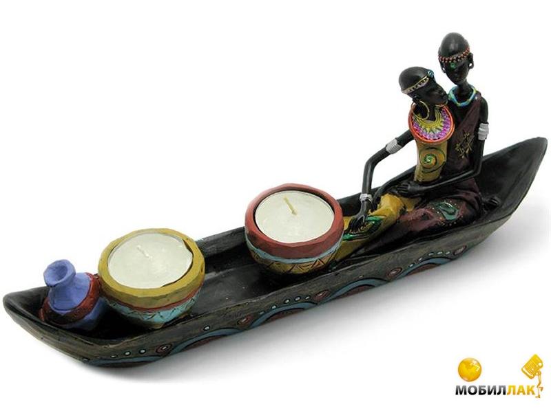Даршан в лодке со свечами SY07041 28см (29061) Даршан