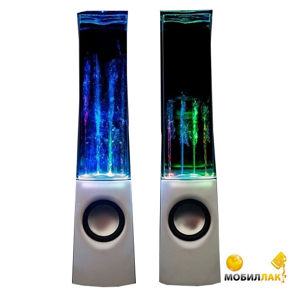 UFT Колонки с фонтанчиком dancing water speakers MobilLuck.com.ua 385.000