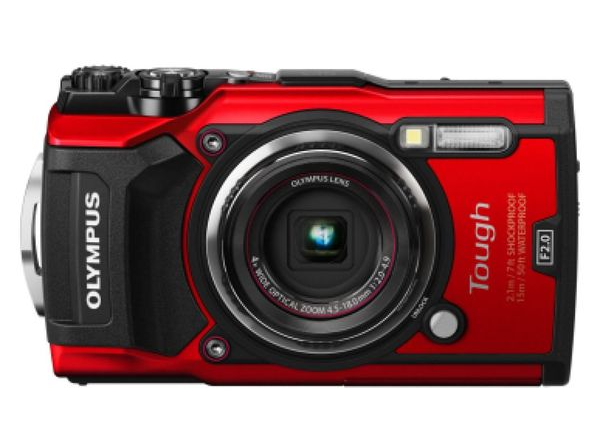 Olympus TG-5 Red Waterproof -15m/GPS/iHS/Wi-Fi (V104190RE000) Olympus
