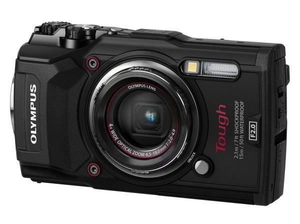 Olympus TG-5 Waterproof -15m/GPS/iHS/Wi-Fi Black (V104190BE000) Olympus