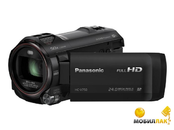 Panasonic HC-V750 Black MobilLuck.com.ua 7004.000