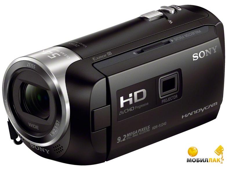 Sony HDR-PJ240 Black MobilLuck.com.ua 4599.000