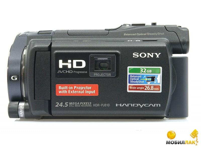 Sony HDR-PJ810 Black MobilLuck.com.ua 13299.000