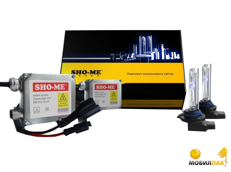 Sho-Me 9006 (HB4) 35W 6000K MobilLuck.com.ua 605.000