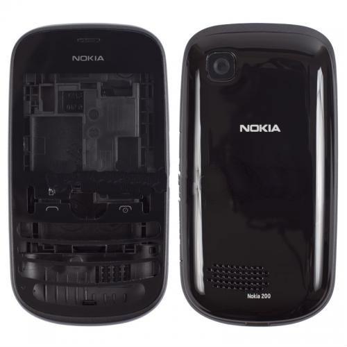 Корпус Nokia 200 Black