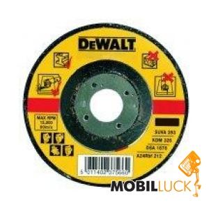 DeWALT Диск шлифовальный по металлу 115мм (DT3402-QZ) MobilLuck.com.ua 42.000