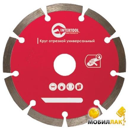 Intertool CT-1008 Диск отрезной сегментный 150мм MobilLuck.com.ua 77.000