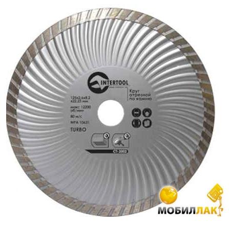 Intertool CT-2005 Диск отрезной Turbo 230мм MobilLuck.com.ua 99.000