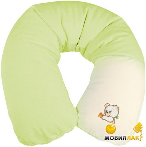 BabyMatex Подушка для кормления Relax (с зелёной наволочкой Мишки) (0091-52) MobilLuck.com.ua 578.000