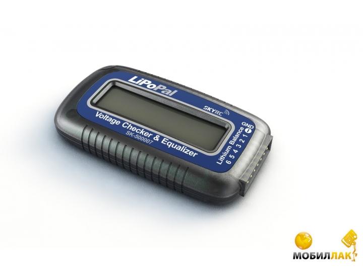 SkyRC Тестер LiPo батарей SkyRC LIPOPAL с функцией балансировки (SK-500007-01) MobilLuck.com.ua 310.000