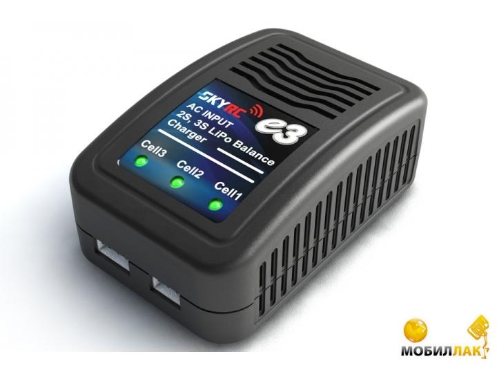 SkyRC Зарядное устройство SkyRC e3 800mA с/БП для LiPo аккумуляторов (SK-100081) MobilLuck.com.ua 220.000