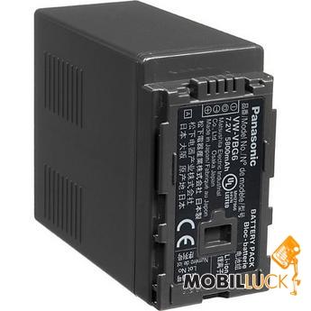 Li-ion аккумулятор VW-VBG6 - 7.2V на 5800мАч.  Подходит для видеокамер Panasonic через дополнительный.