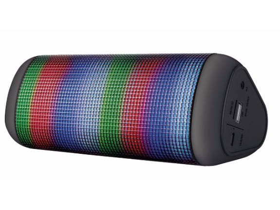 Trust Dixxo Delta Wireless Bluetooth Speaker with party lights Trust