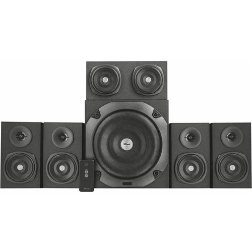 Trust Vigor 5.1 Surround Speaker System for PC Black Trust