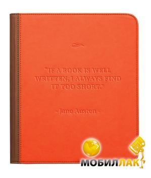 PocketBook PB801 кожезаменитель, оранжевый/серий MobilLuck.com.ua 358.000