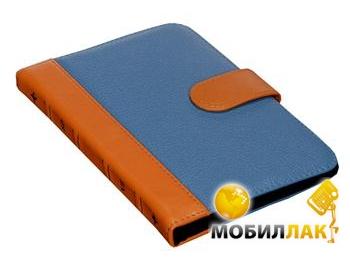 SB1995 Bookcase S Кожа Blue-Orange MobilLuck.com.ua 164.000