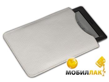 SB1995 Kindle Modest кожа фактурная white MobilLuck.com.ua 98.000