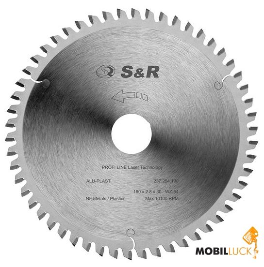 S&R 250х2,8х30 ТС 80 зубов (237480250) MobilLuck.com.ua 1253.000