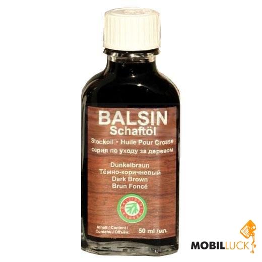 Klever Ballistol Масло Balsin Schaftol 50мл. д/ухода за деревом, темно-коричнев.с MobilLuck.com.ua 91.000