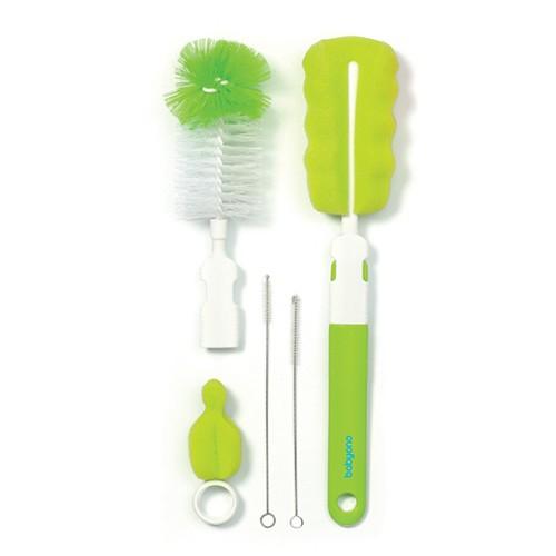 BabyOno Набор  для чистки бутылок и сосок Зеленый (735) BabyOno