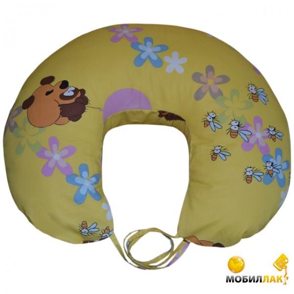 Малышастик Подушка для кормления Винни Пух (pod234) MobilLuck.com.ua 208.000