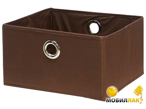 Home4you Basket 30x30xH17cm, brown (67842) MobilLuck.com.ua 114.000