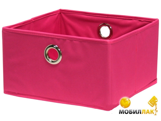Home4you Basket 30x30xH17cm, pink (67845) MobilLuck.com.ua 114.000