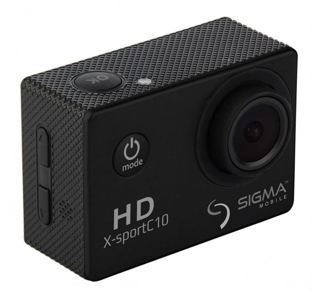 Экшн-камера Sigma X-sport C10 Black