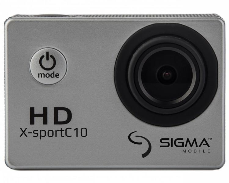 Экшн-камера Sigma X-sport C10 Silver